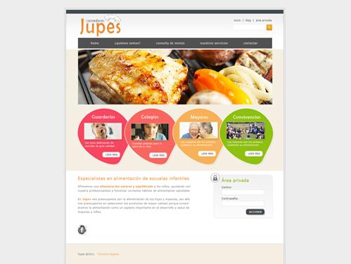 Comedores Jupes Webdesign München