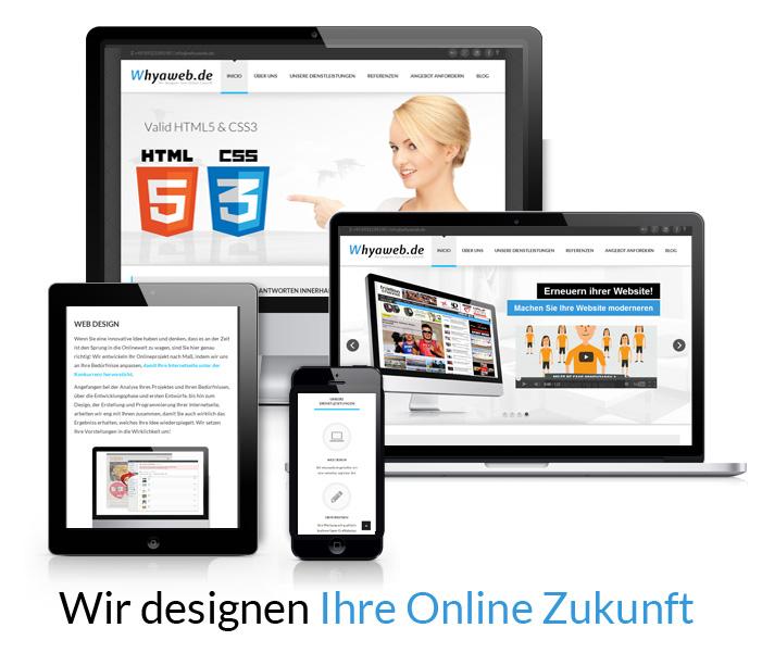 Wir designen Ihre Online Zukunft