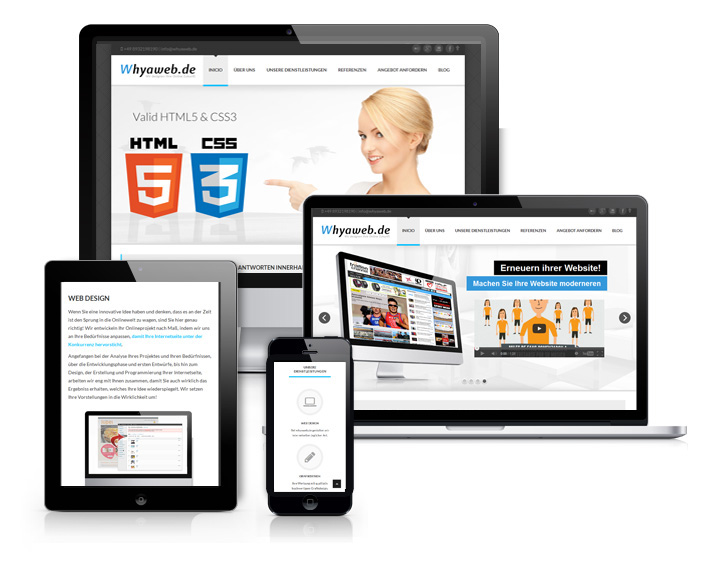 Webdesign mit Responsive