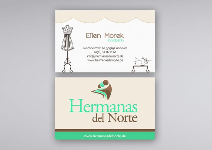 Visitenkarten Ellen Morek